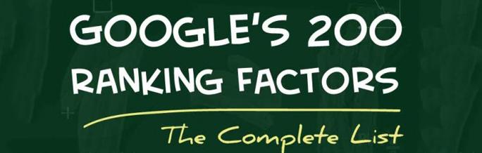google ranking factors backlinko