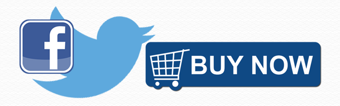 twitter Facebook buy now buttons
