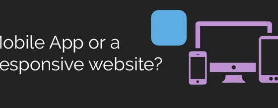 mobile app responsive website