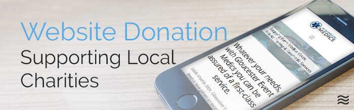 website donation scheme Cheltenham